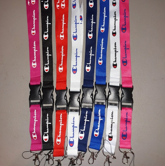 Champion Accessories - Lot of 8 champion Lanyards